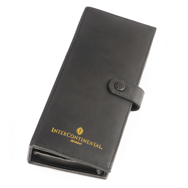 Leather Remote Control Holder with Loop